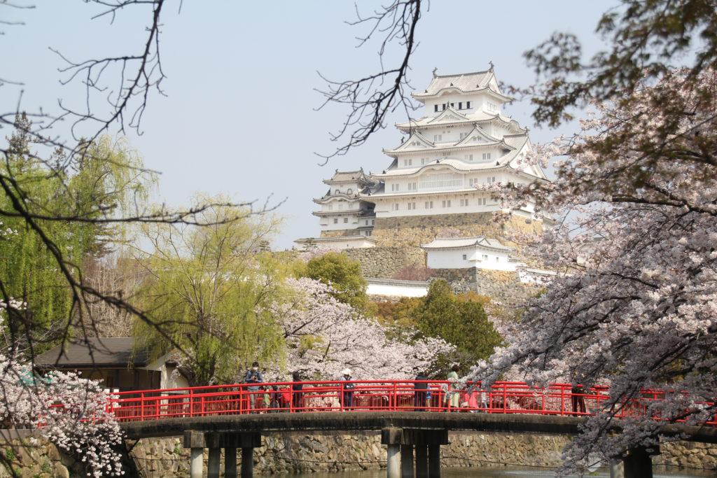 城見橋からの姫路城