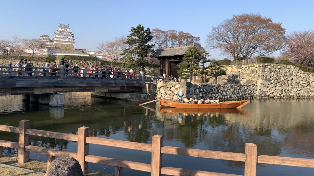 桜門橋と姫路城