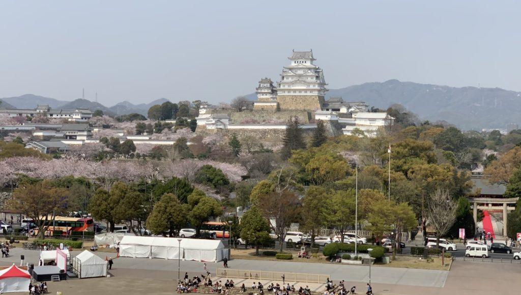 イーグレ姫路から姫路城